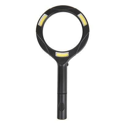 Reading Magnifier 5 Times Enlargement With COB LED Aid Lighting lichtlupe Lamp