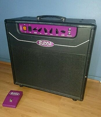 Budda Superdrive 18 watts combo guitar tube amplifier, best of Vox and Marshall