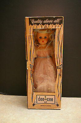 "Vintage 1950's 'dee An Cee' 17"" Cindy Doll With Box And Original Outfit"