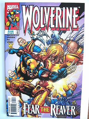 Wolverine # 141 (Fear The Reaver, Comp With Trading Card Insert, Aug 1999), Nm