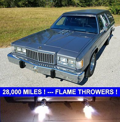 1984 Mercury Other HEARSE 1984 LINCOLN MERCURY COLONY PARK HOT ROD HEARSE WAGON 28,495 MILES FLAME THROWER