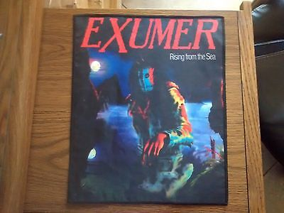 Exumer,rising From The Sea,sew On Printed Large Back Patch