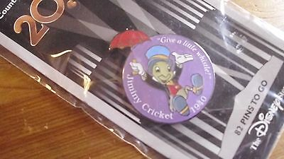 """Jiminy Cricket """"countdown to the millennium"""" pin"""
