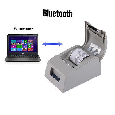 58mm Bluetooth 4.0 Wireless Receipt POS Thermal Printer For Windows WHITE BP