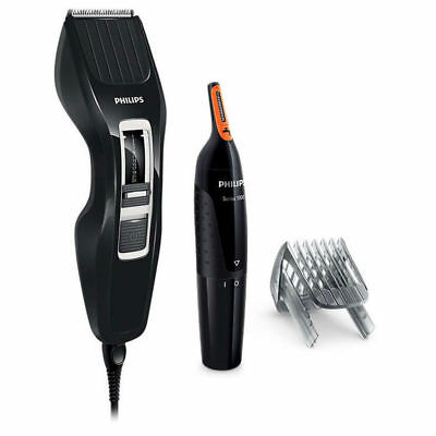 Philips HC3410-85 Hair Clipper Corded Trimmer/Cordless Nose/Eyebrow/Ear Groomer