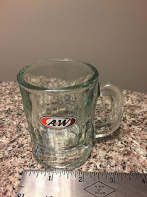 A & W Rootbeer Mini Miniature Child's Root Beer  Glass Mug