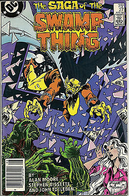 The Saga of Swamp Thing #27 (Aug 1984, DC) FN/VF