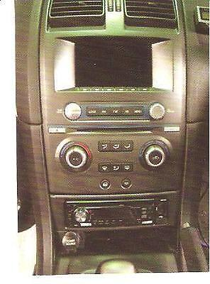 Ford Falcon BA-BF & Territory, aftermarket Radio dash facia. With AUX. NEW!