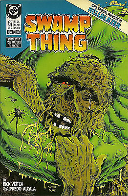 Swamp Thing #67 (Dec 1987, DC) NM, 1st App. of John Constantine, HIGH GRADE