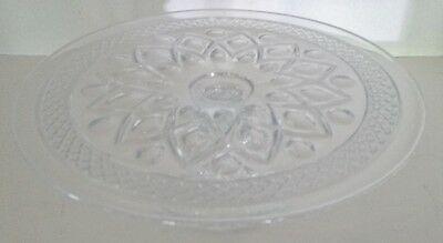 Imperial Glass Ohio CAPE COD CLEAR Pedestal Cake Plate - 10 3/8""