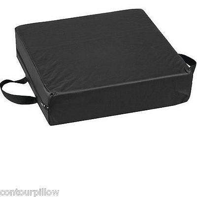 """Deluxe Seat Chair Cushion - 4"""" Firm Cushion Provides Lift - HardBoard and Cover"""