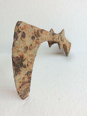 "WOW! Huge 13.58"" / 4.28 lbs Ancient Viking DOUBLE BATTLE AXE ~ 900 AD"