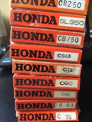 NOS Honda Carburator Kits Many Sizes C95 CB93 C92 C90 C72 CS65 CB750 CB250 SL350