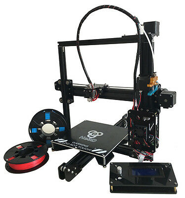 He3D Prusa I3 DIY Reprap Complete Kit Single Extruder 3D Printer Auto Leveling
