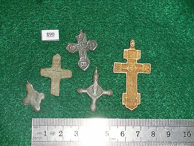 Very Old Crosses, Crucifix, Found in Northern Europe