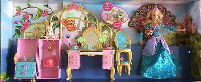 Barbie The Island Princess~Getting Ready With Tallulah Play Set~Mattel.