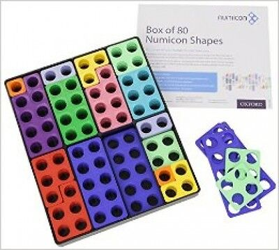 Numicon: Box Of 80 Numicon Shapes              (Game)