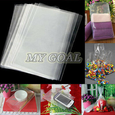 Clear Cellophane Cello Plastic Display Bags Greeting Card Gift Cake Sweets Party