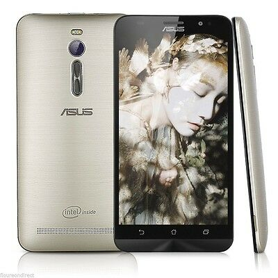 "Original Asus Zenfone 2 ZE551ML 5.5"" Smartphone Dual SIM Quad Core 16GB Android"