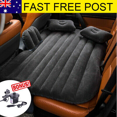 Waterproof Inflatable Travel Camping Car Seat Sleep Rest Spare Mattress Air Bed