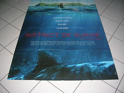 "Affiche Cinema""instinct De Survie"""