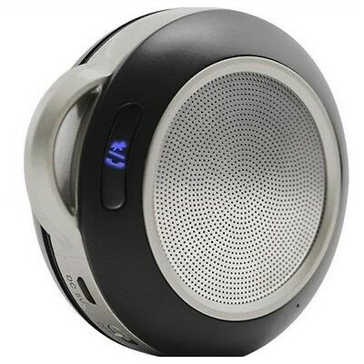 Portable Personal Bluetooth Speaker Stereo Music Mobile Phone Sound -Slate 3SIXT