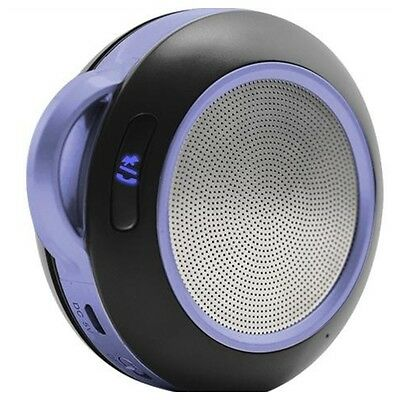 Portable Personal Bluetooth Speaker Stereo Music Mobile Phone Sound -Blue 3SIXT