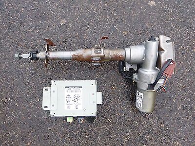 Mgf Mgtf Electric Power Steering Column Qmb100870 And Ecu Ywc103773