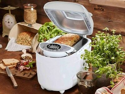 Bread Maker With 12 Programmes And 3 Browning Levels Silvercrest 850W