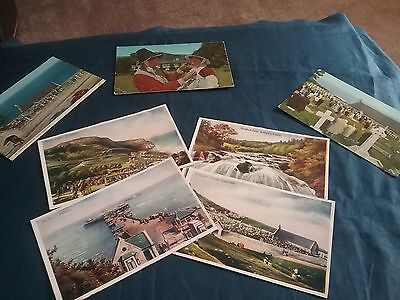 A Collection Of Vintage Postcards From Wales
