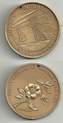 Grouse Mountain North Vancouver British Columbia Canada Dogwood Medal