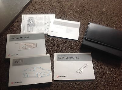 Vauxhall astra manual service pack book owners guide wallet history