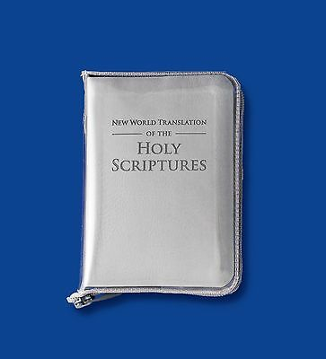 Clear Vinyl Bible Cover (Pocked size) - Jehovah's Witnesses
