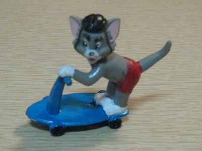 Tom and Jerry - Jerry on the Skateboard - PVC Figure