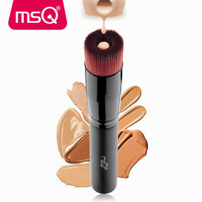 MSQ Pro Liquid Fan Makeup Brushes Kabuki Face Foundation Powder Puff Cosmetics