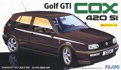 Fujimi RS-47 1/24 Model Car Kit VW Volkswagen Golf MK3 GTi VR6 Cox 420Si/628Si
