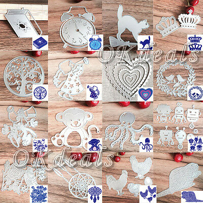 New Metal Cutting Dies Stencil DIY Scrapbooking Embossing Album Paper Card Craft