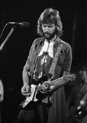 Eric Clapton Rock Blues Guitarist 10x8 Glossy Music Photo Print Picture