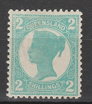 Queensland 1897 Qv 2/- Wmk Crown/q