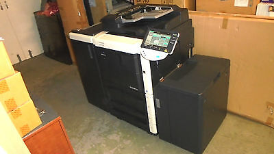 KONICA BIZHUB 751 with PAPERDECK, SORTER and Fax with only 408K