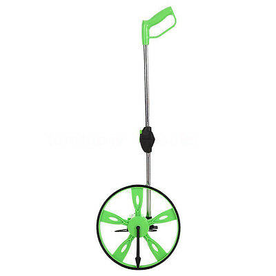 07S8 31.8cm Folding Distance Measuring Wheel Tool Surveying Counter 99999.9m Ne