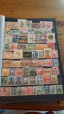 66 TIMBRES DE Colombie (lot 13)