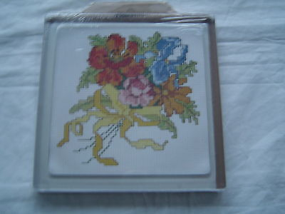 """Spring Bouquet Crafty Hot Plate - Fully Sealed item - 5"""" x 5"""" plate"""