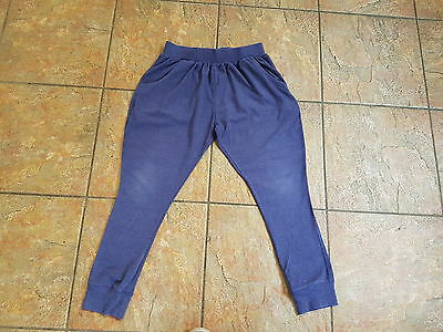 NEXT Girls Blue Jogging Bottoms - Age 12 Years Excellent Condition