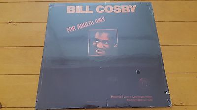 Bill Cosby - For Adults Only 1980 US Reissue NEAR MINT SEALED