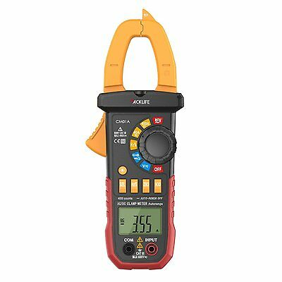 Digital Clamp Meter Tacklife CM01A  Auto Ranging Multimeter with AC/DC Voltage