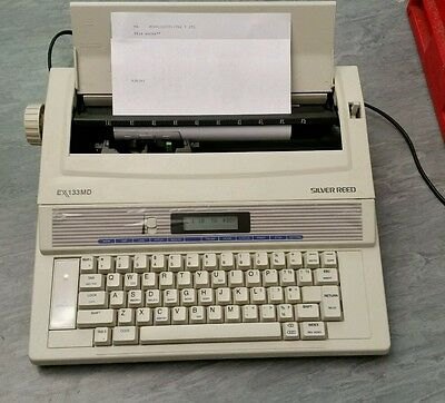 Silver Reed Ex133Md Portable Electronic Typewriter With New Film