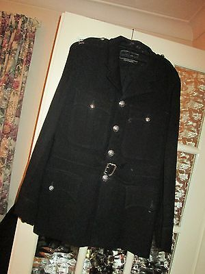 Vintage 1970 Police Tunic With Belt
