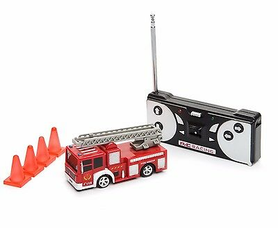 COBRA RC TOYS MINI R/C FIRE TRUCK with Working Front Headlights & FULL WARRANTY