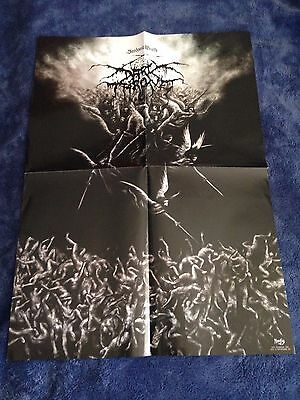DARKTHRONE - Sardonic Wrath POSTER (70cm x 50cm) Moonfog Black Metal